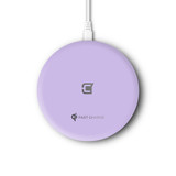 Caseco Nitro II Wireless Charging Pad - Purple