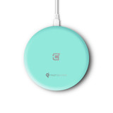 Caseco Nitro II Wireless Charging Pad - Teal