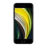 Apple iPhone SE 64gb (2020)   Black   Front