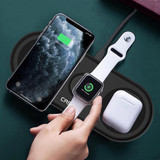 Nitro 3-in-1 Wireless Charger - Black