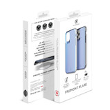 Flare Swirled Iridescent Clear Tough Case - iPhone 12 | Retail