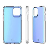 Flare Swirled Iridescent Clear Tough Case - iPhone 12 |