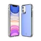 Flare Swirled Iridescent Clear Tough Case - iPhone 12 | Front and Back