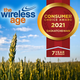The Wireless Age is the Consumer Choice Award Winner for Best Cellular Retailer in Saskatchewan 7 years in a row!