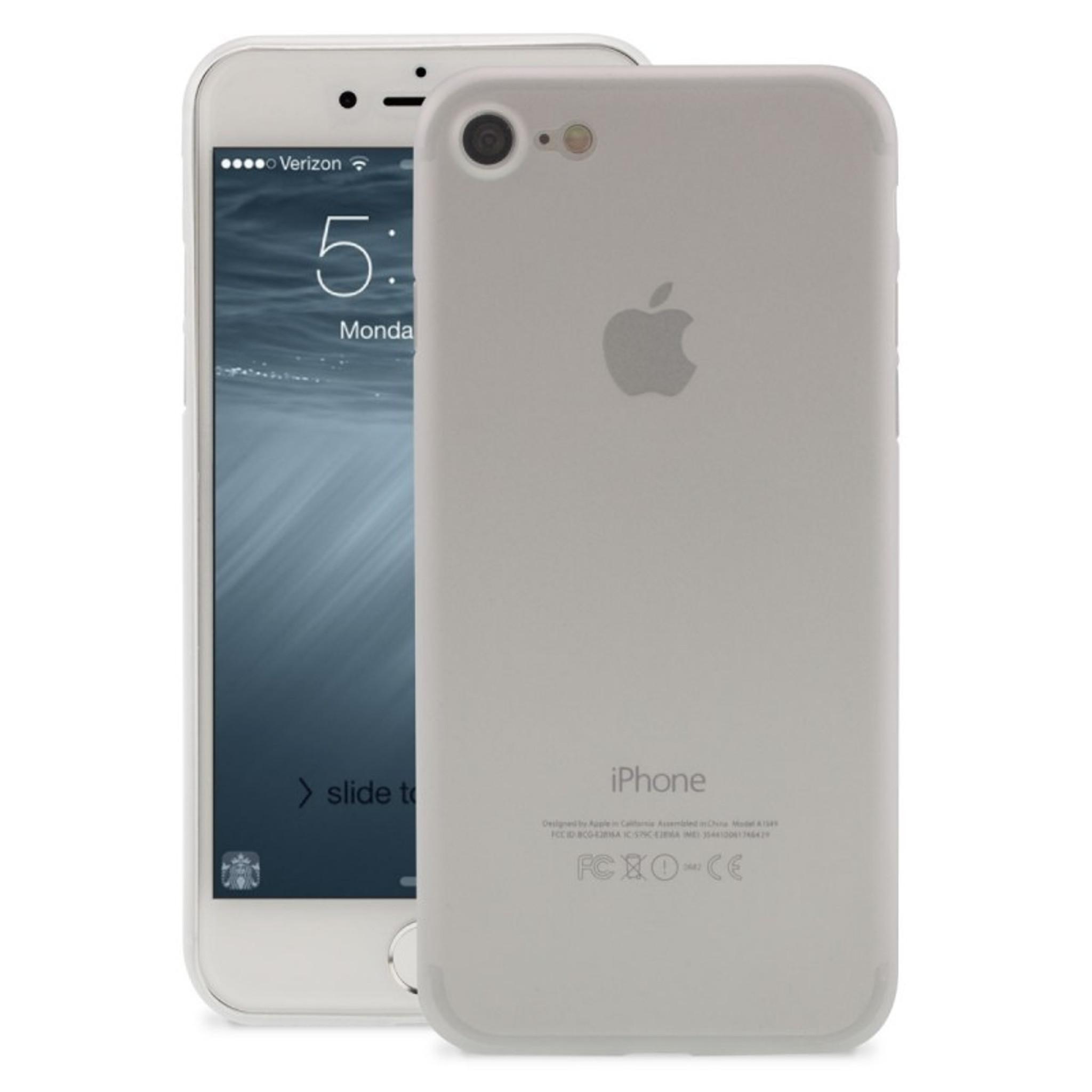 san francisco a5a8c a11c7 Caseco iPhone 7 Clear Slim Skin