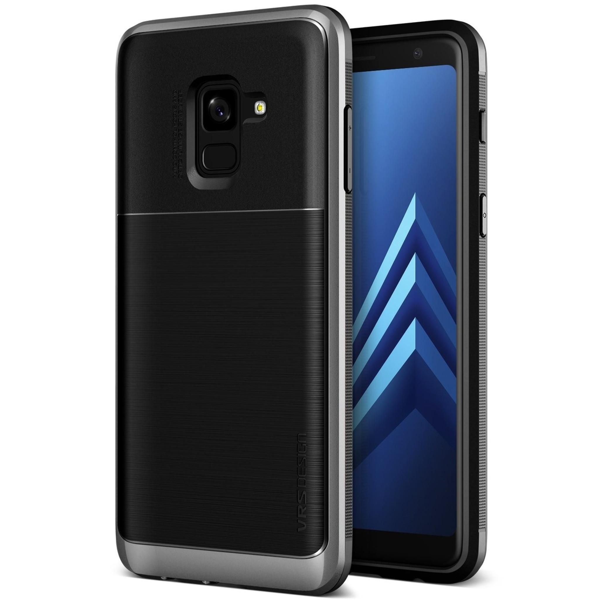 8e554b4d68 VRS Design High Pro Shield Samsung Galaxy A8 - Dark Silver - The ...