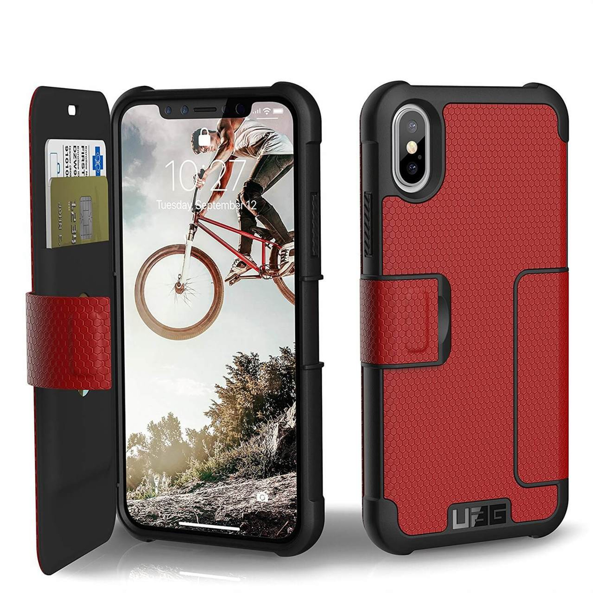 buy online 7e31d 13a11 UAG Metropolis iPhone X Case - Magma