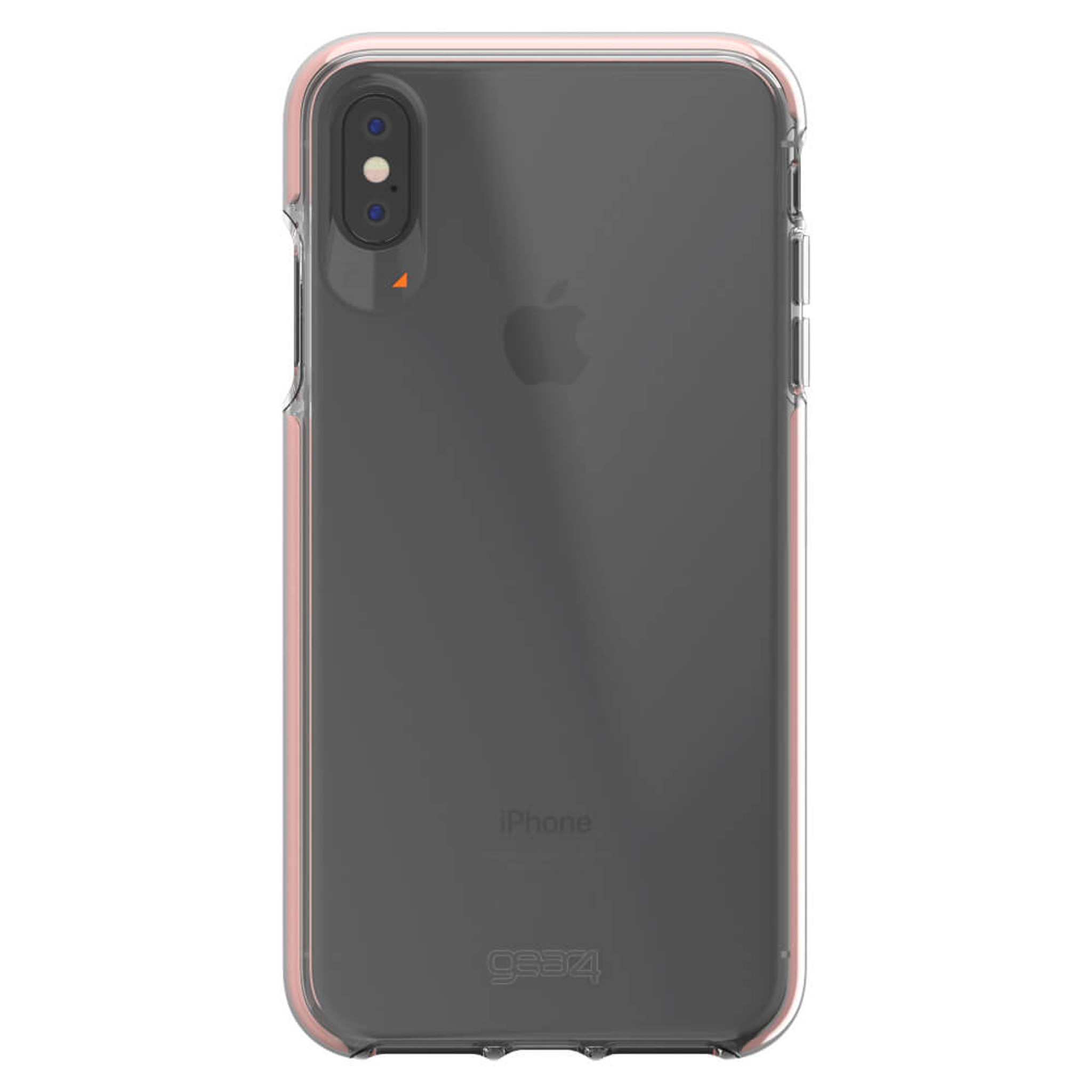 iPhone Xs Max Gear4 D3O Rose Gold Piccadilly Case
