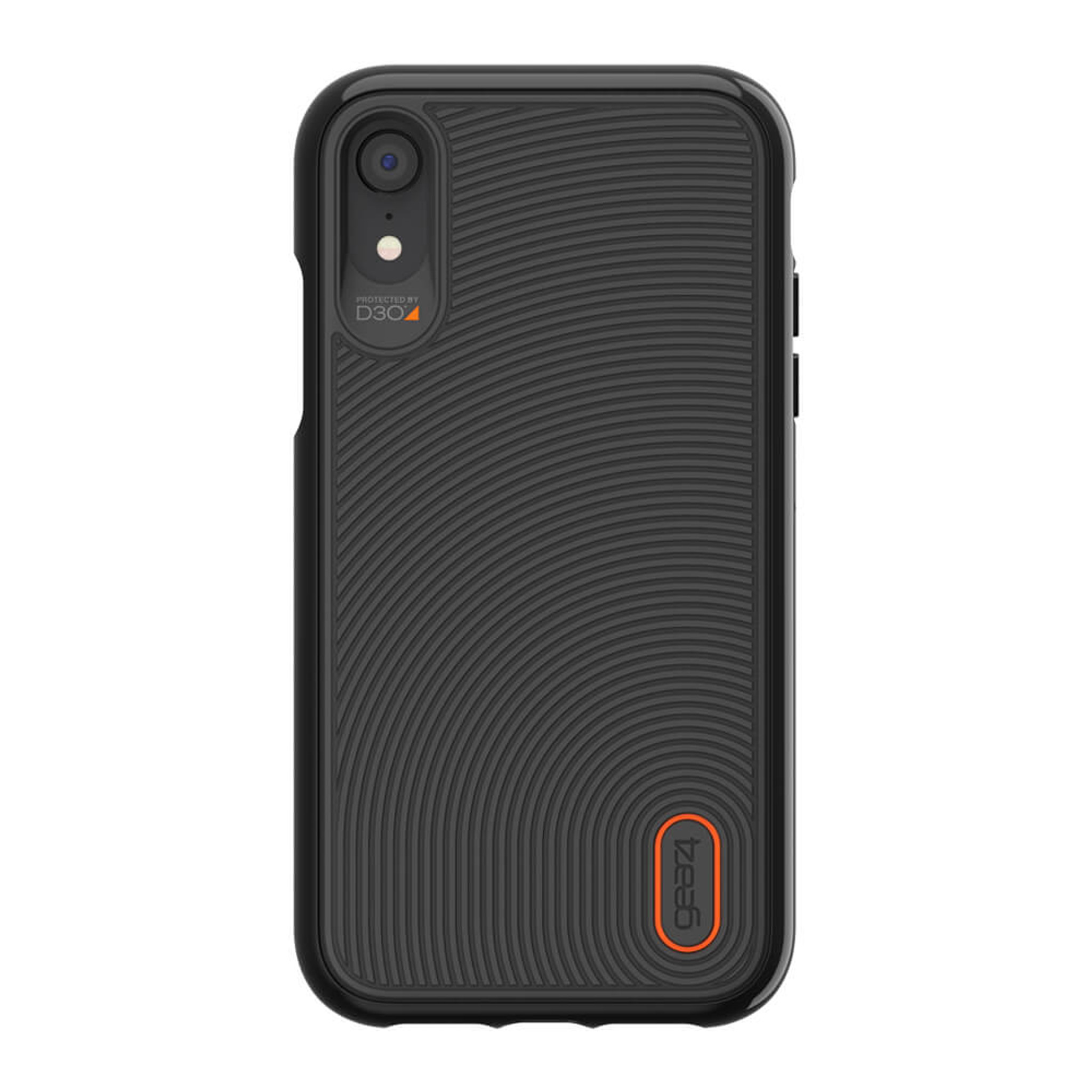 new styles 33d94 f4a8f iPhone XR Gear4 D3O Black Battersea Case