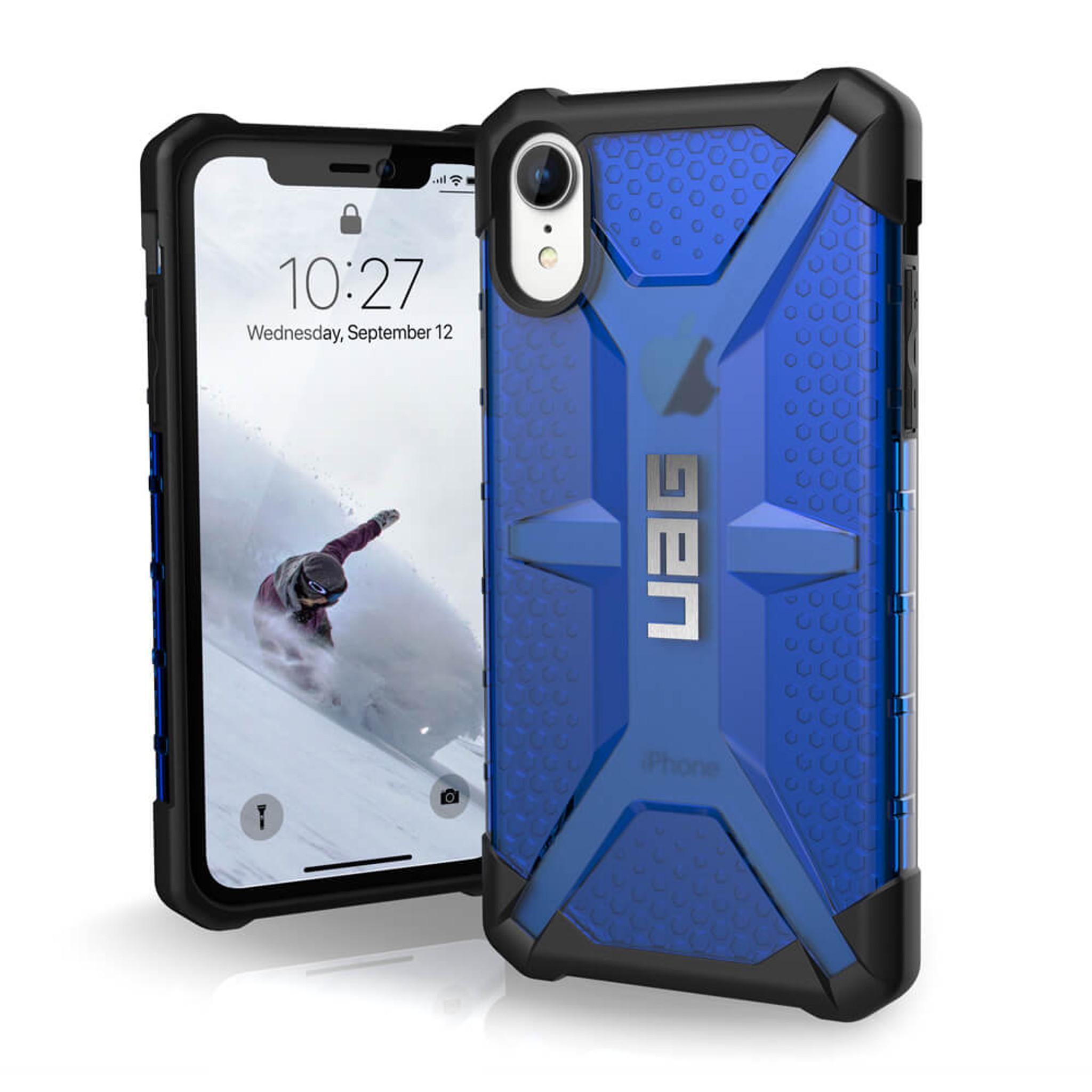 promo code c1f00 c2b0f UAG Plasma iPhone XR Case - Cobalt