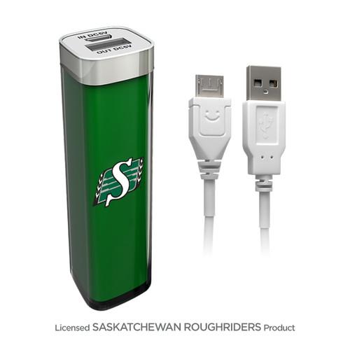 PowerBox Backup Battery 2600mAh – Saskatchewan Roughriders   Cable