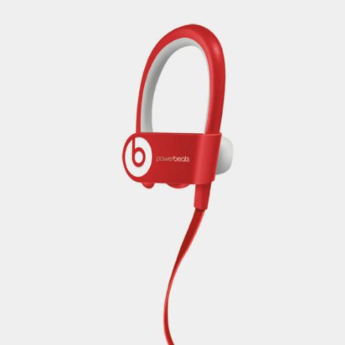 Beats PowerBeats2 Red   Angled