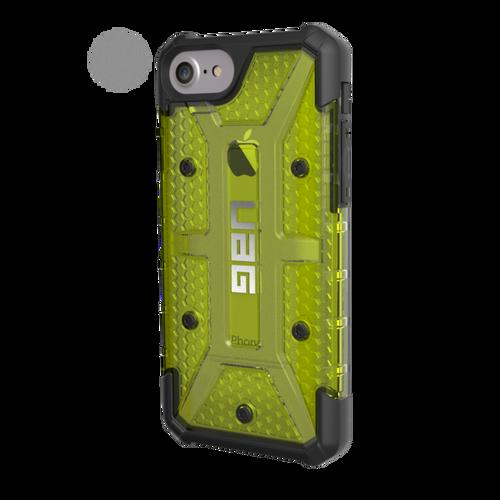 UAG Plasma iPhone 7 Case - Citron | Left