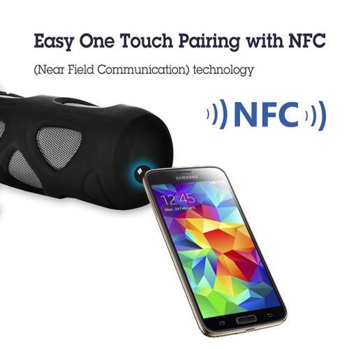 Cyclone Outdoor Wireless Speaker | NFC