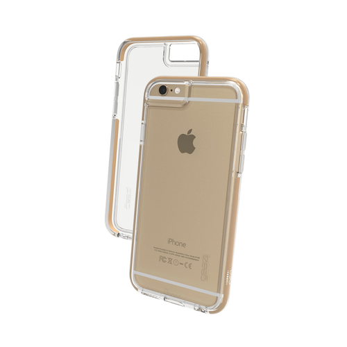 iPhone6/6s Gear4 D3O Space Grey IceBox case   Front and Back - Clear