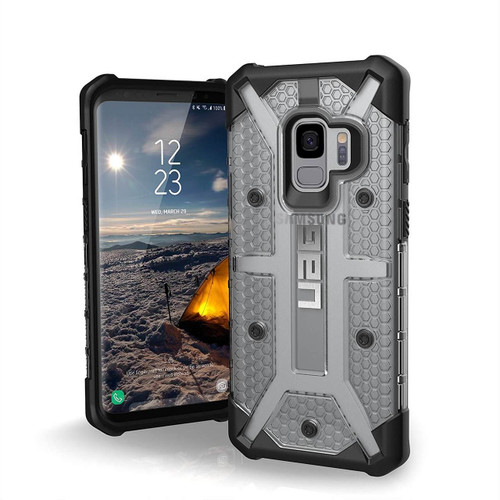 UAG Plasma Galaxy S9 Case | Ice | Front and Back