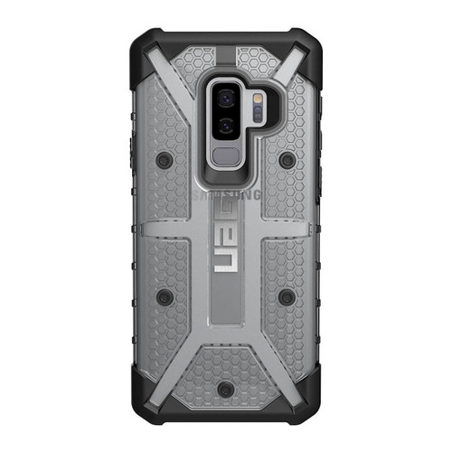 UAG Plasma Galaxy S9 Plus Case   Ice   Rear