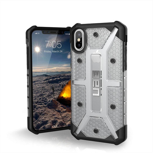 UAG Plasma iPhone X Case |  Front and Back