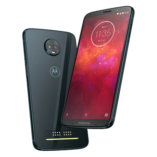 Moto Z3 Play | Front and Back