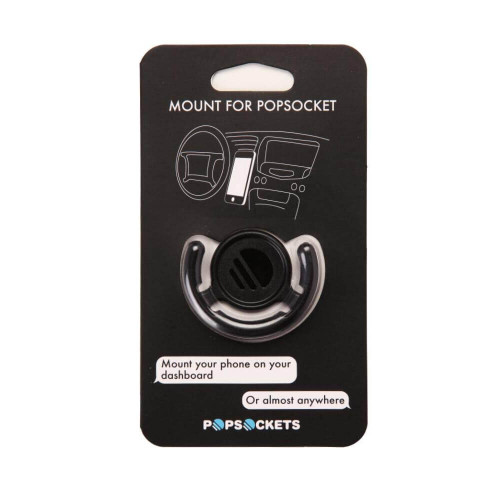 PopSockets: Mount for all Grips | Black | Retail