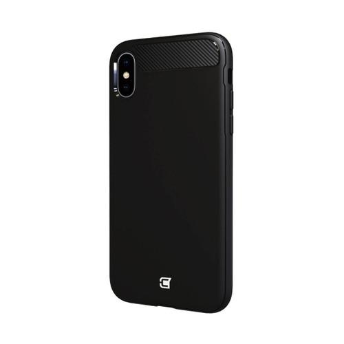 Caseco iPhone XS Max Skin Shield Case | Black | Back