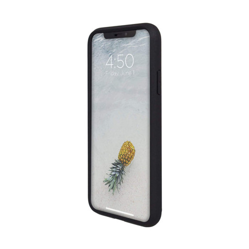 Caseco iPhone XS Max Skin Shield Case | Black | Front