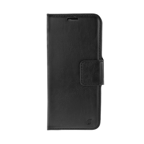 Caseco Broadway 2-in-1 RFID Wallet Folio iPhone XS Max | Black | Closed
