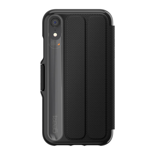Gear4 D3O Black Oxford Case iPhone XR | Back