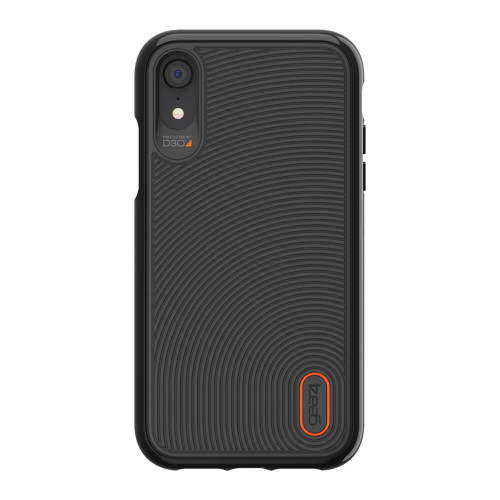 iPhone Xs Max Gear4 D3O Black Battersea Case | Back