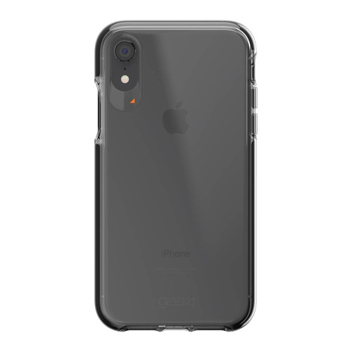 iPhone XR Gear4 D3O Black Piccadilly Case | Back