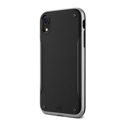 VRS Design High Pro Shield iPhone XR   Silver   Back