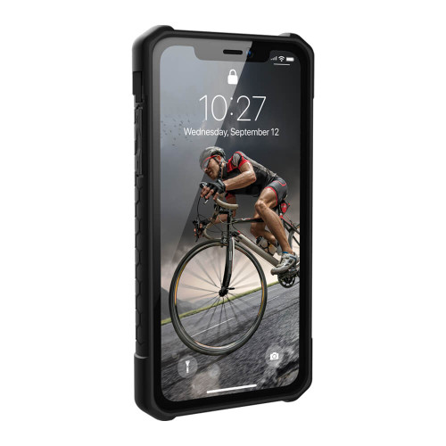 iPhone XR UAG Monarch Carbon Fiber Case | Front