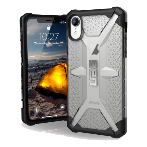 UAG Plasma iPhone XR Case | Front and Back