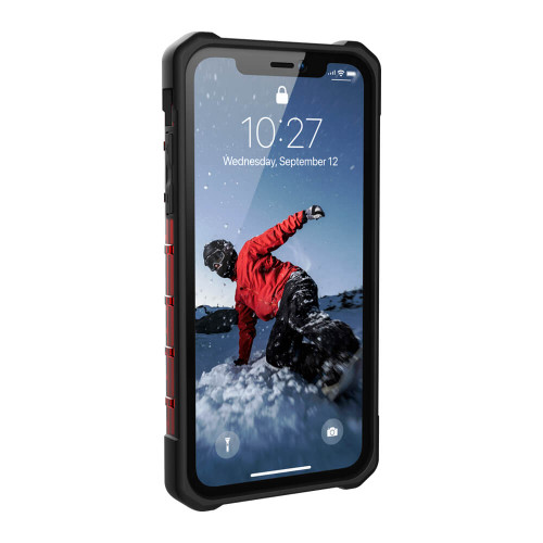 UAG Plasma iPhone XR Case | Magma | Front