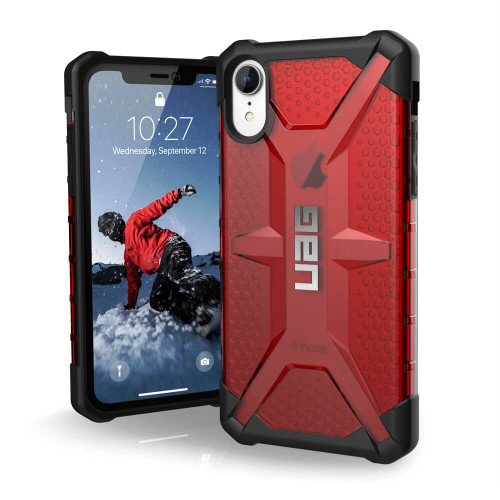 UAG Plasma iPhone XR Case | Magma