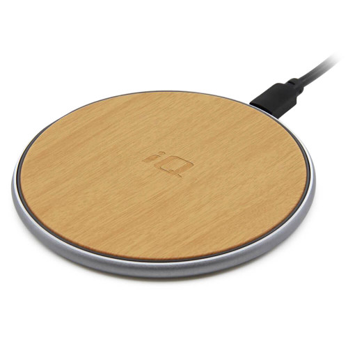 IQ Wireless Charging Pad - Wood