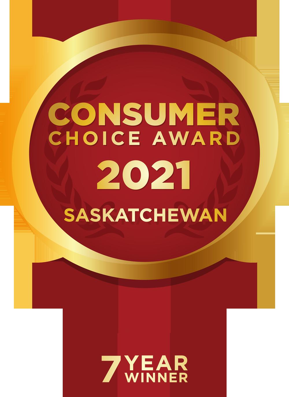Consumer Choice Award - 7 Year Winner