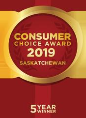 Consumer Choice Award 2019 - 5 Year Winner