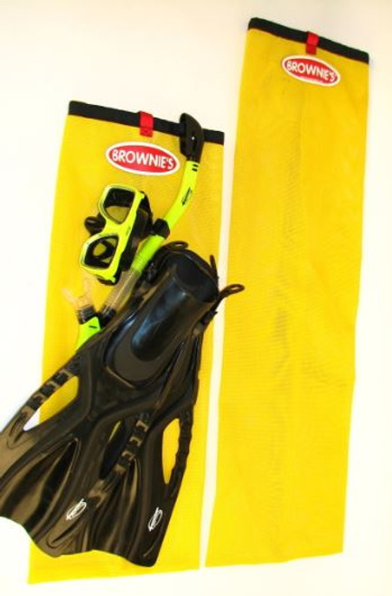 Long Snorkel Bag for Brownie's Third Lung hookah diving