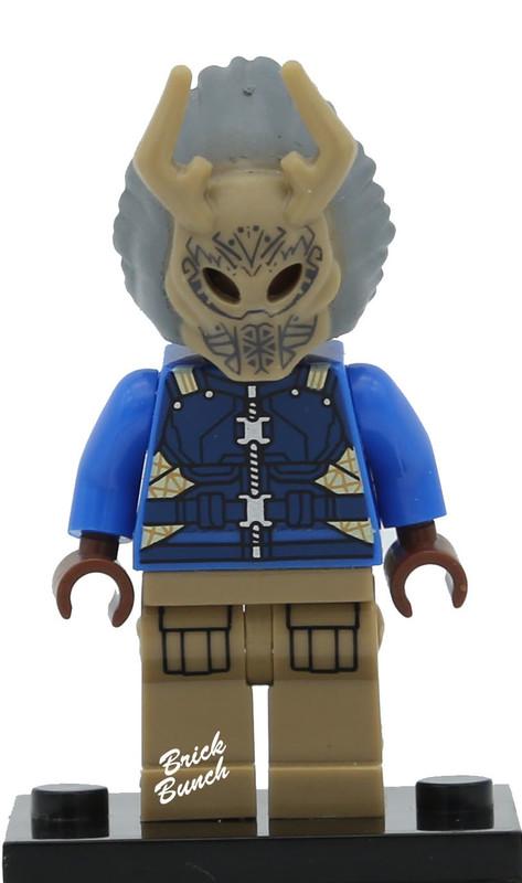 Erik Killmonger (Tribal Mask)