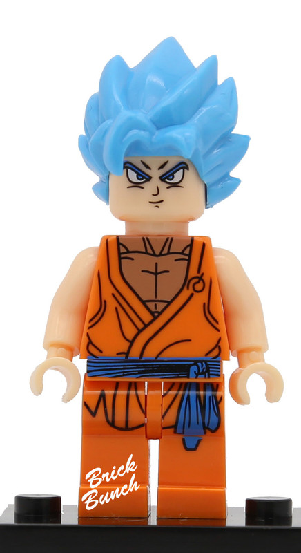 Super Saiyan Blue Hair Goku (Dragon Ball Z)