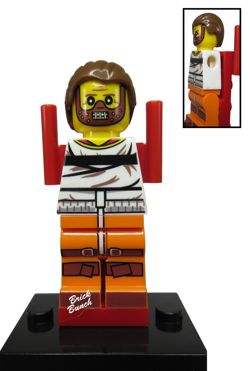 Hannibal Lector For Lego Action Figure