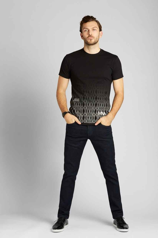 August McGregor Knits AMMA T-Shirt Black