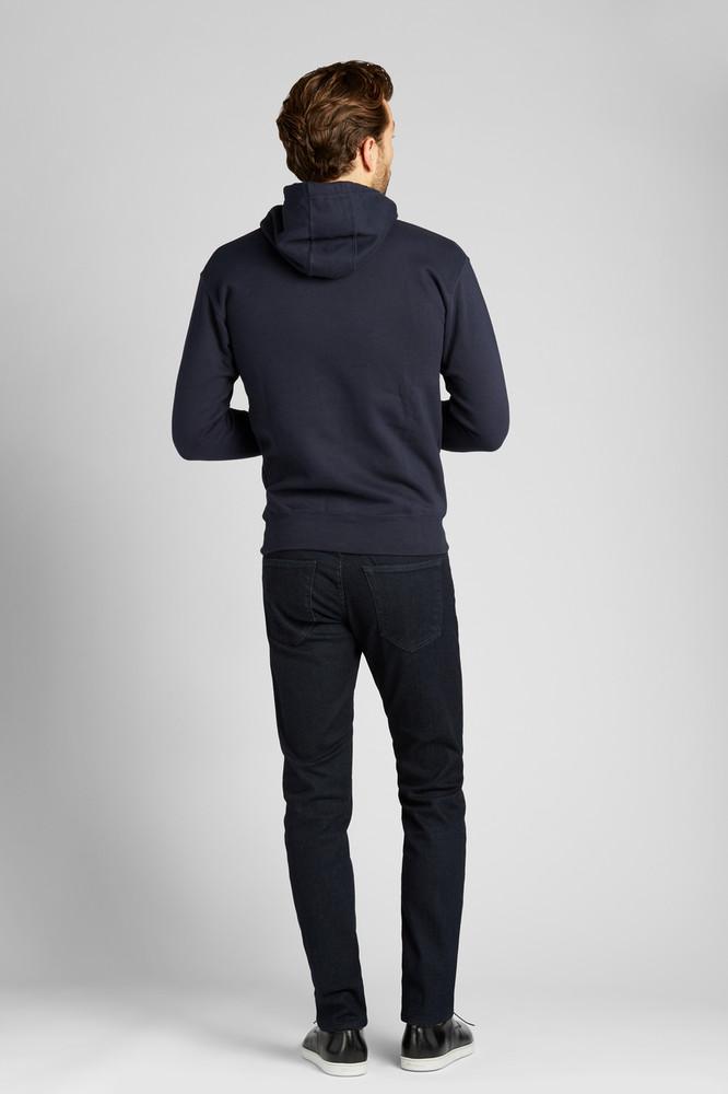 August McGregor Ambition Hooded Sweatshirt in Dark Navy
