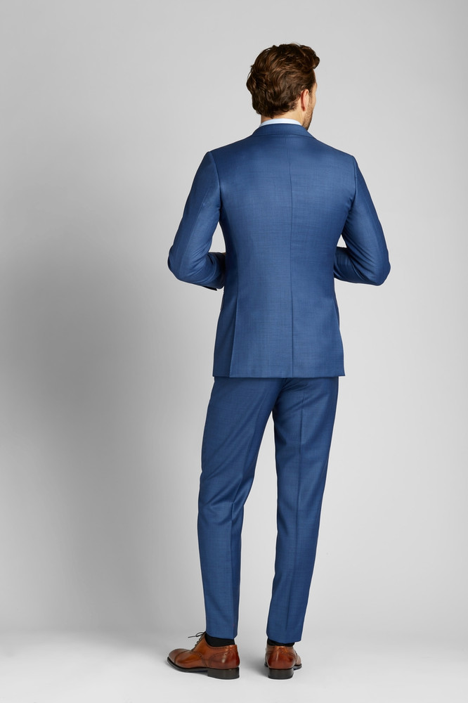 August McGregor Blue 3-Piece Suit