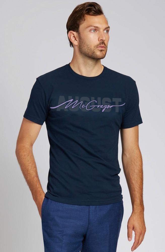 August McGregor Lavender Flocking T-Shirt