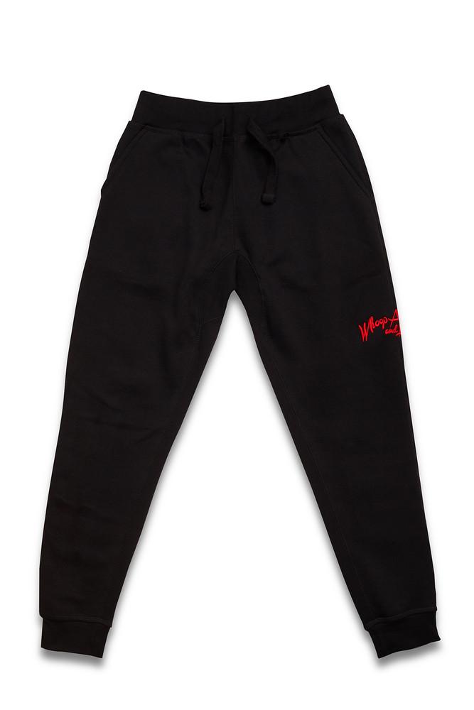 August McGregor Whoop Ass Jogger Sweatpants in Black