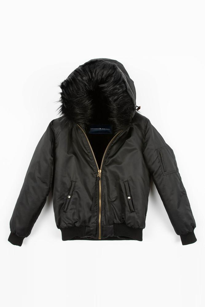 August McGregor x Bobbi Parka Limited Edition Hooded Bomber Jacket