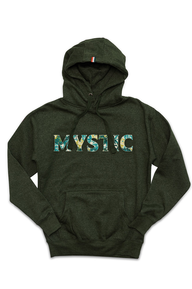 August McGregor Mystic Hooded Sweatshirt in Heather Green