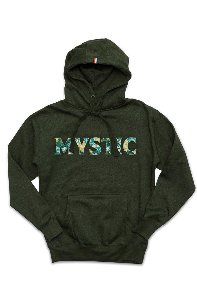 August McGregor Mystic Hooded Sweatshirt in Heather Green